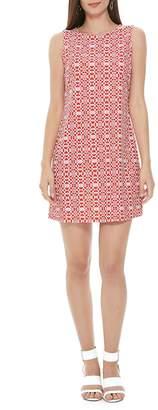 Aryeh Motif Shift Dress