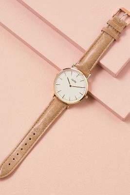 Cluse Boheme Leather Watch