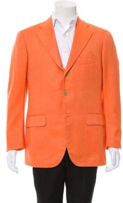 Cesare Attolini Cashmere Three-Button Blazer