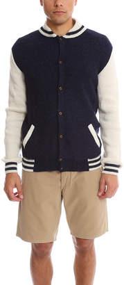 Warehouse Monsieur Lacenaire Knitted Varsity Jacket