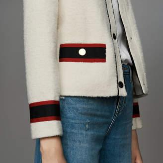 Maje Cropped tweed jacket