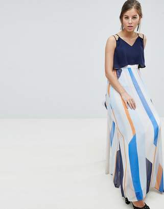 Coast Suri Striped Maxi Dress