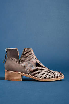 Dolce Vita Tommi Perforated Suede Booties