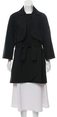 Missoni Belted Knee-Length Coat