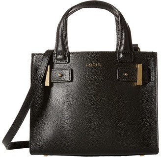 Lodis Accessories Stephanie Under Lock & Key Uma Mini Tote $238 thestylecure.com
