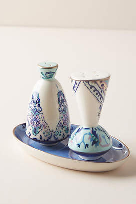 Anthropologie Lilia Salt and Pepper Shakers