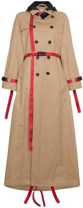 Palm Angels Trench coat with red belt