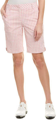 Puma Golf Plaid Bermuda Short