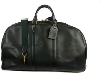 Louis Vuitton Leather weekend bag
