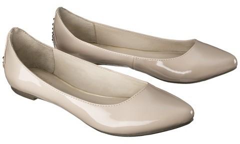 Mossimo Women's Vikki Pointed Toe Studded Flat