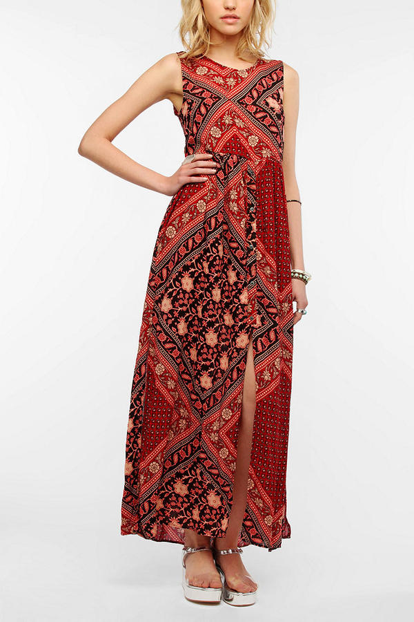 MinkPink Scorpio Sleeveless Maxi Dress