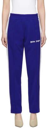 Palm Angels Blue Classic Track Pants