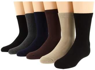 Jefferies Socks Rib Crew Sock Six Pair Pack Kids Shoes