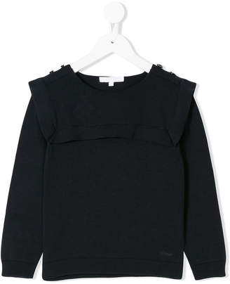 Chloé Kids sailor detail sweater