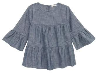 J.Crew crewcuts by Chambray Ruffle Top