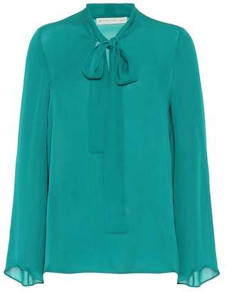 Etro Silk pussy-bow blouse