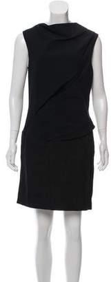 Helmut Lang Shift Sleeveless Mini Dress