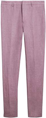 Burberry Soho Fit Linen Trousers