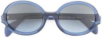 Oscar de la Renta Regina round frame sunglasses