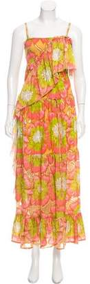 Tsumori Chisato Convertible Floral Print Dress w/ Tags