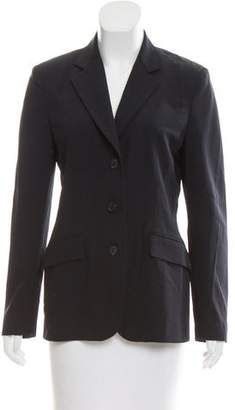 Narciso Rodriguez Notch-Lapel Wool Blazer