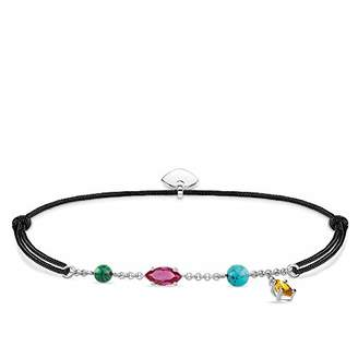 Thomas Sabo Women Bracelet Little Secret Colourful Stones 925 Sterling Silver LS079-965-7