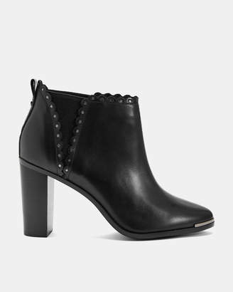 Ted Baker NURELYL Scallop stud heeled boots