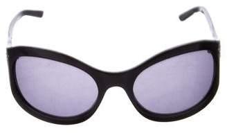 Emporio Armani Oval Tinted Sunglasses