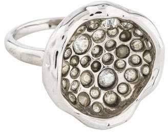 Alexis Bittar Crystal Miss Havisham Cup Ring