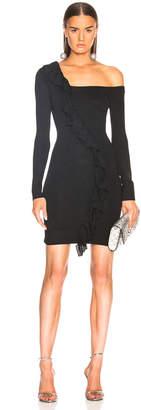 Joostricot Bodycon One Shoulder Lurex Dress
