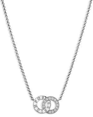 Piaget Possession Diamond& 18K White Gold Pendant Necklace