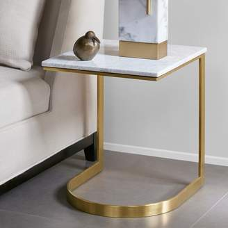 Madison Park Antonio Marble Top End Table