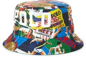 Ralph Lauren Reversible Shield Bucket Hat