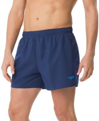 Speedo Men's Solid Surf Runner Volley Shorts
