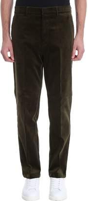 Golden Goose Green Velour Pants