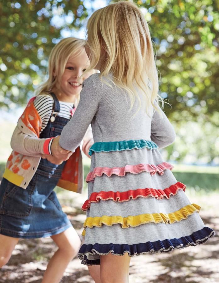 BodenFrill Knitted Dress