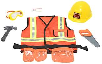 Melissa & Doug Construction Worker Children's Costume, 3-6 years