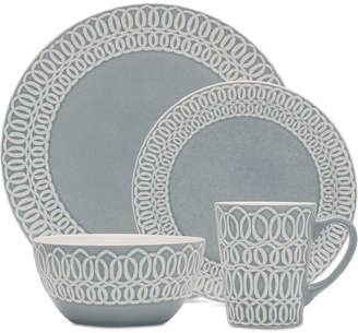 Mikasa Abby Blue 16-Piece Dinnerware Set
