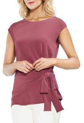 Vince Camuto Topic Heat Mix Media Blouse