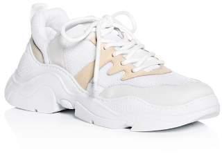 Schutz Women's Jackye Lace Up Wedge Sneakers