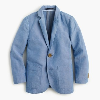 Boys' unconstructed Ludlow blazer in Irish linen $128 thestylecure.com