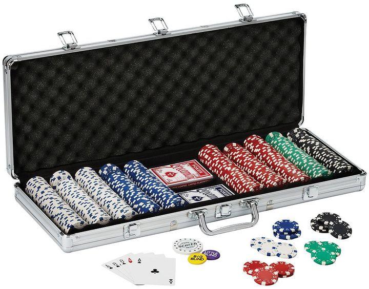 Fat Cat Texas Hold' Em 500-ct. Chip Set