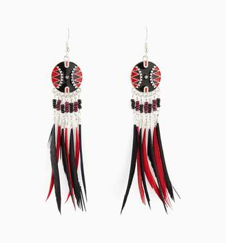 Promod Feathers earrings