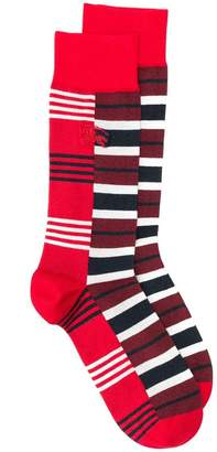 Burberry striped socks