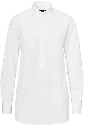 Polo Ralph Lauren Cotton Broadcloth Tunic $145 thestylecure.com