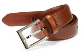 Saks Fifth Avenue Men's COLLECTION Leather Belt - Tan Brown - Size 30