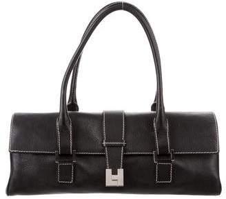 Lambertson Truex Leather E/W Shoulder Bag