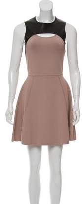 Yigal Azrouel Cut25 by Mini A-Line Dress