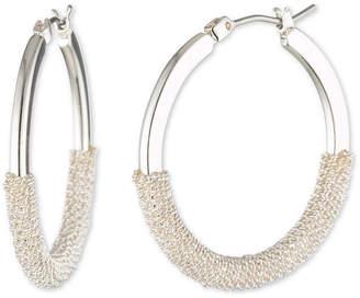 Chaps 30.5mm Hoop Earrings