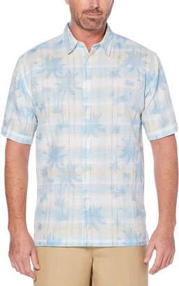 Cubavera Tropical Plaid Shirt